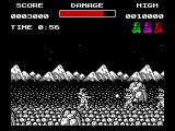 Soldier of Light ZX Spectrum Very quickly the bad guys come in from both sides