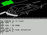 Circus ZX Spectrum here's the car that needs fixing