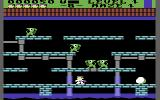 Trolls and Tribulations Commodore 64 Kill the cretins at the maze start