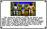 Times of Lore Amiga Choose your character, either Knight, Valkyrie or Barbarian