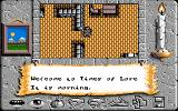 Times of Lore Amiga The game begins