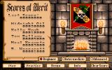 Beyond Dark Castle Amiga High scores and game select screen