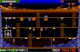A Prehistoric Tale Amiga Playing level one
