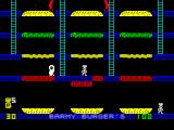 Barmy Burgers ZX Spectrum This is how the game should be played. By walking over the beef patty the player causes it to fall onto the burger ...