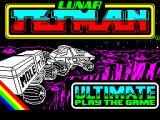 Lunar Jetman ZX Spectrum This screen displays as the game loads