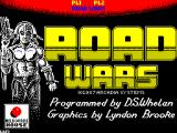 Roadwars ZX Spectrum The game's load screen
