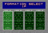 Tecmo World Cup Genesis The available tactics