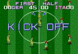 Tecmo World Cup Genesis Kick off