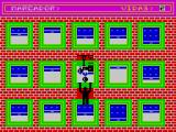 Escalador Loco ZX Spectrum Objects are dropped from windows and the player must avoid them or else .....