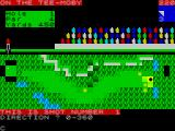 Royal Birkdale Championship Golf ZX Spectrum Each approach shot is played the same way. First the player sets the direction of the shot in degrees, 0 - 360