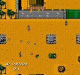 Jackal NES Here is a demonstration of genrades (upgradable to bazooka), your most powerful weapon. It always fires forwards in relation to your jeep.