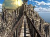 Riven: The Sequel to Myst Windows Mobile From the iron foot bridge you notice the Great Golden Dome