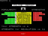 Dictator ZX Spectrum After the decision the secret police offer another report, cost $1000. Again this offer of a report follows most decisions