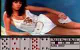 Hollywood Poker Amiga Her 80s era zebra top is the first to go