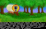 Ultima IV: Quest of the Avatar Amiga Could your fate be decided in that gypsy wagon?