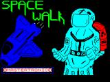 Space Walk ZX Spectrum This screen displays as the game loads