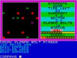 Vagan Attack ZX Spectrum Straight away the ship takes damage.