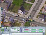 SimCity 4: Rush Hour Windows A nasty accident!  This may be a sign to provide alternate routes around here.
