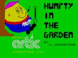Humpty Dumpty in the Garden ZX Spectrum This screen displays as the game loads