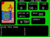 The Forest of Doom ZX Spectrum Its well worth reading the manual and finding the keypad controls that can turn features like quick test and sound on/off