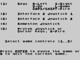 Devil's Crown ZX Spectrum How to play / select controls