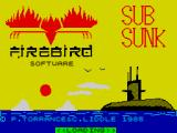 Subsunk ZX Spectrum Loading screen