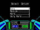 3D Starstrike ZX Spectrum .... and difficulty setting