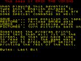 The Saga of Erik the Viking ZX Spectrum The game controls are explained