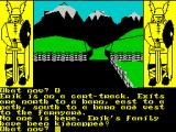 The Saga of Erik the Viking ZX Spectrum The game really begins here. Erik's family have been kidnapped