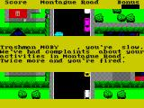 Trashman ZX Spectrum The first warning that this is a timed puzzle