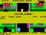 Trashman ZX Spectrum Three strikes and its Game Over again
