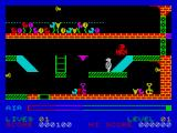 Son of Blagger ZX Spectrum Key 1 has been collected, that's 100 points in the bag.
