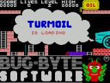 Turmoil ZX Spectrum This screen displays as the game loads