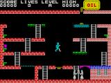 Turmoil ZX Spectrum The yellow platform is a springboard that helps Mic jump