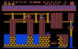 Trolls and Tribulations Atari 8-bit Maze three increases the complexity and can be tricky to navigate