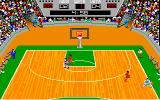 GBA Championship Basketball: Two-on-Two Amiga In game play