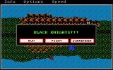 Phantasie Amiga Attacked by Black Knights!