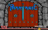 Phantasie Amiga Title screen