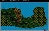 Phantasie Amiga The over land map