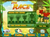 The Race: Worldwide Adventure Macintosh Main menu