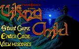 Prophecy: Viking Child Amiga Game select screen.
