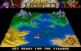 Prophecy: Viking Child Amiga The map shows your progress.