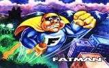 Fatman: The Caped Consumer DOS Title screen.