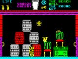 Pyjamarama ZX Spectrum Barrels can be jumped on