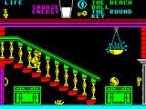 Pyjamarama ZX Spectrum Stairs can be climbed