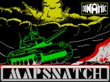 Mapsnatch ZX Spectrum This screen is displayed as the game loads