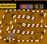 Ivan 'Ironman' Stewart's Super Off Road NES A second racetrack with the race just starting