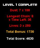 Mayhem's Magic Dust J2ME Level completed