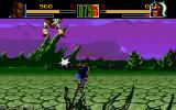 Shaq Fu Amiga The main game is one on one fighting in the manner of Street Fighter.