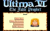 Ultima VI: The False Prophet Amiga Choosing a portrait for a new character.